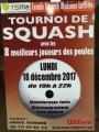 Tournoi de squash !